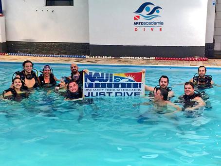 Aprendendo a mergulhar na prática