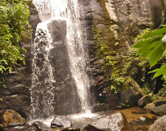 Cachoeira Curso de Mergulho Ilhabela