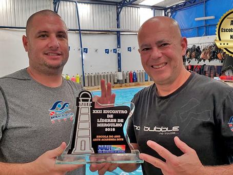 Melhor Escola de Mergulho - NAUI 2018