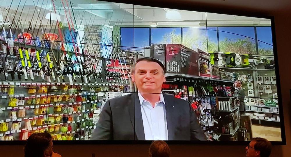 Bolsonaro saudou os participantes