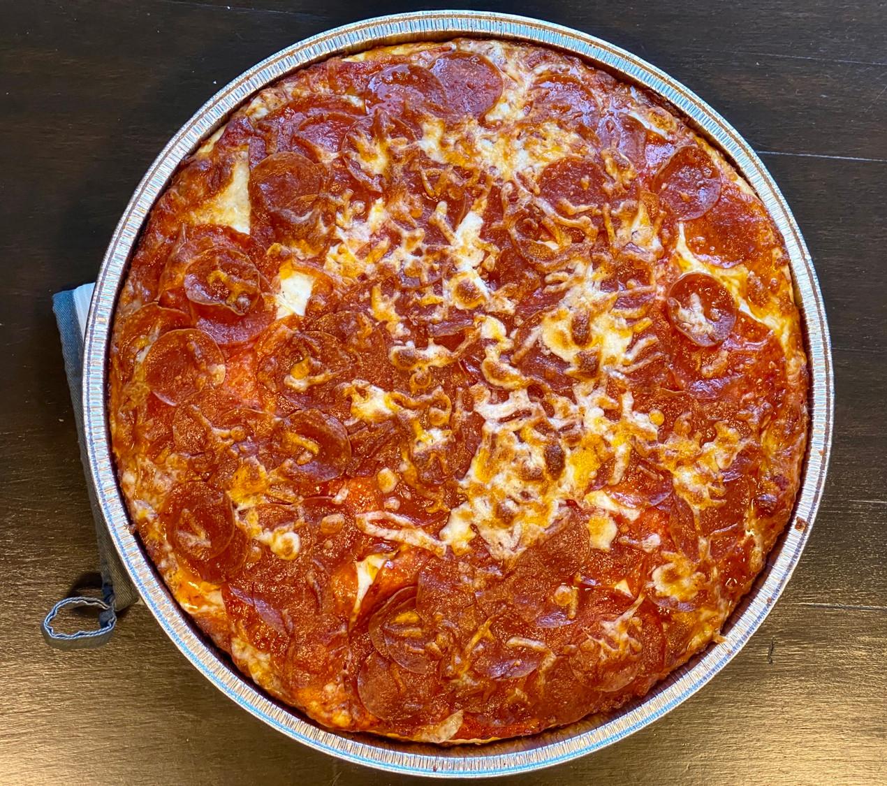 pan pizza from papa murphy photos