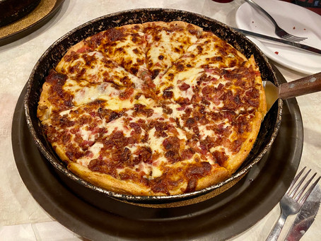Gramboli's Special and Pepperoni Bacon Deep Dish