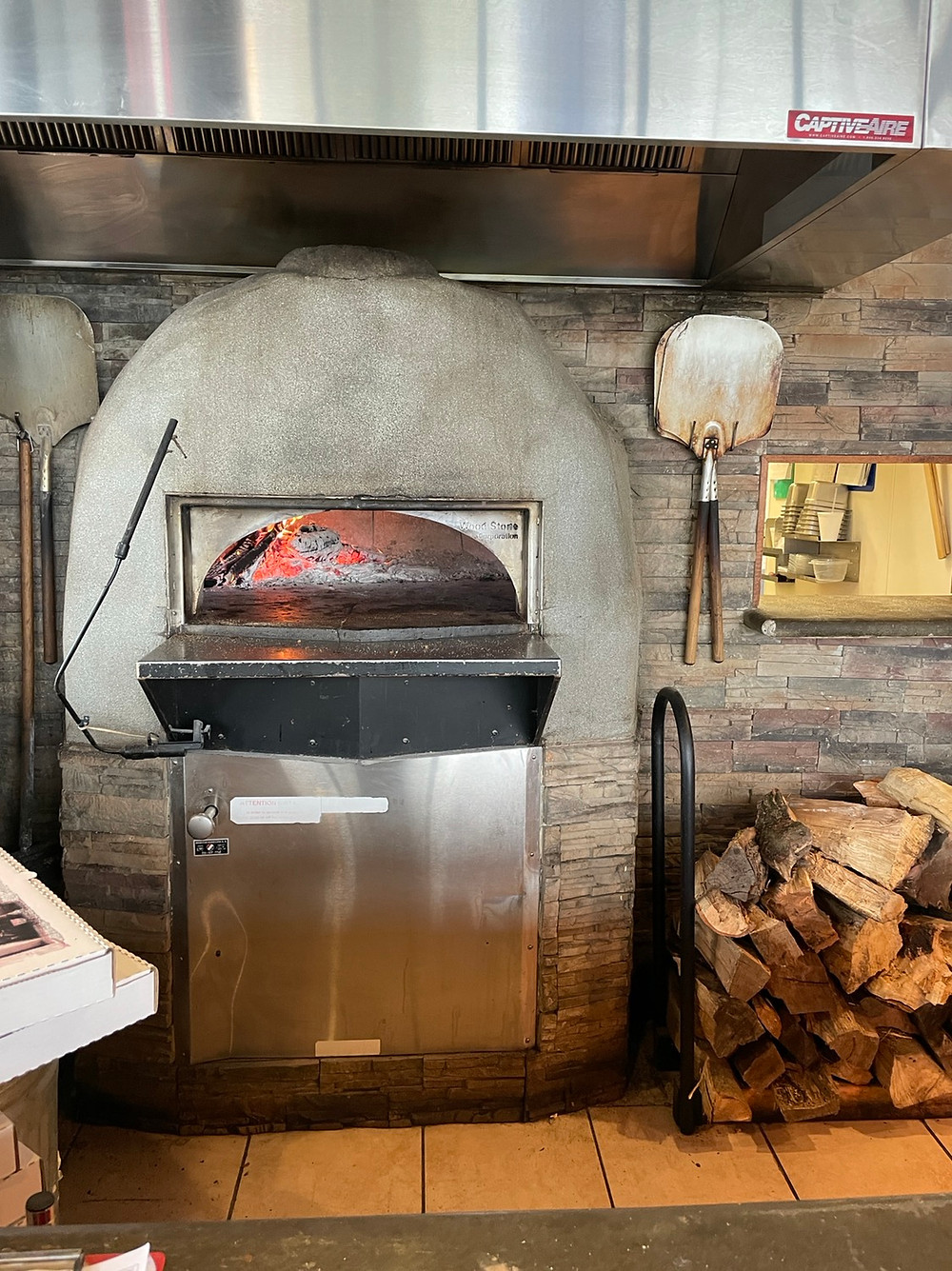 wood fired pizza oven main street grille greenwood