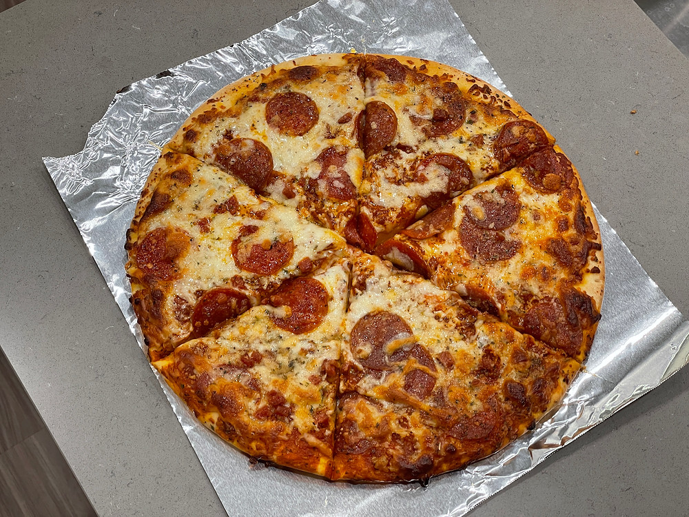 kroger double pepperoni pizza
