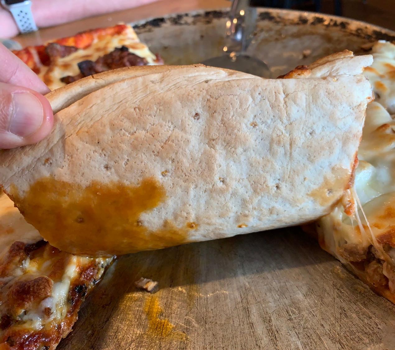 new bethel ordinary pizza crust