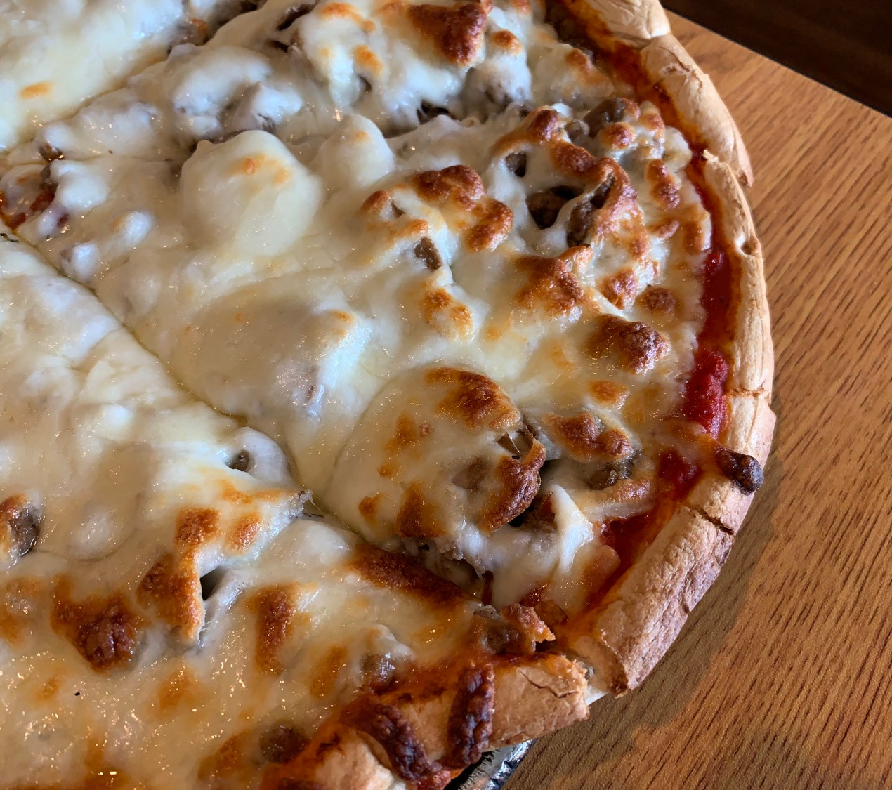 new bethel ordinary close up pizza photo