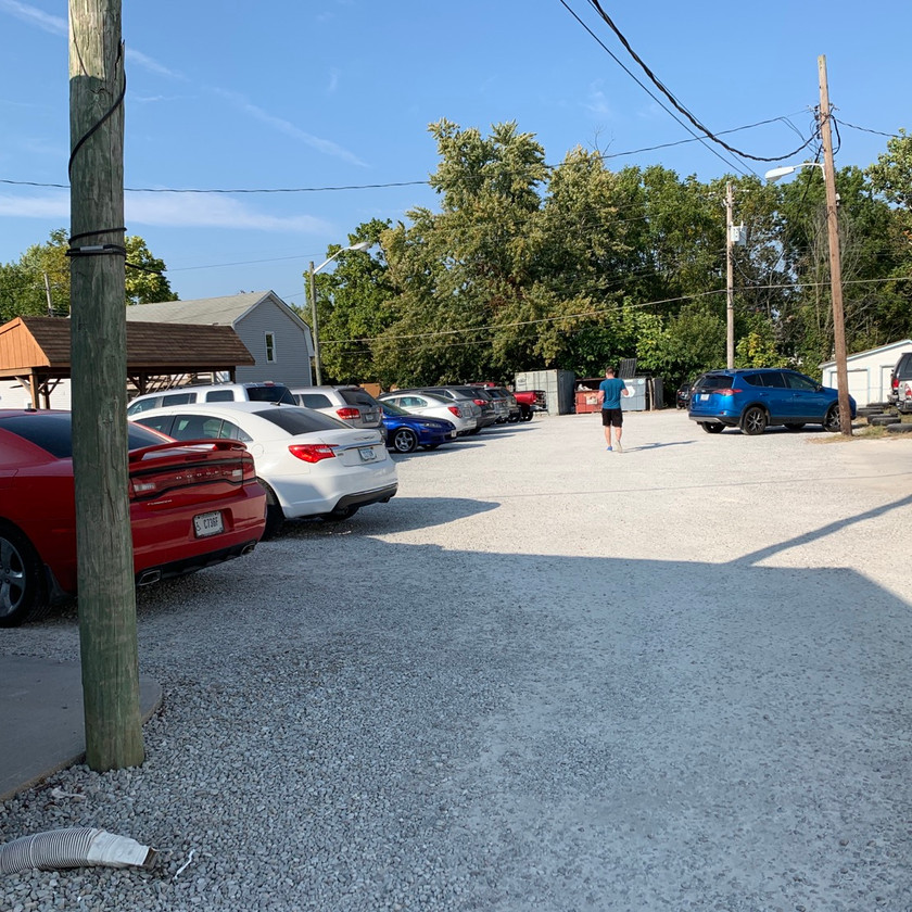 new bethel ordinary parking lot