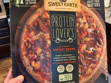 Sweet Earth Protein Lover's Frozen Pizza Review