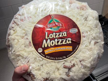 Brew Pub Lotzza Motzza Sausage and Pepperoni Frozen Pizza