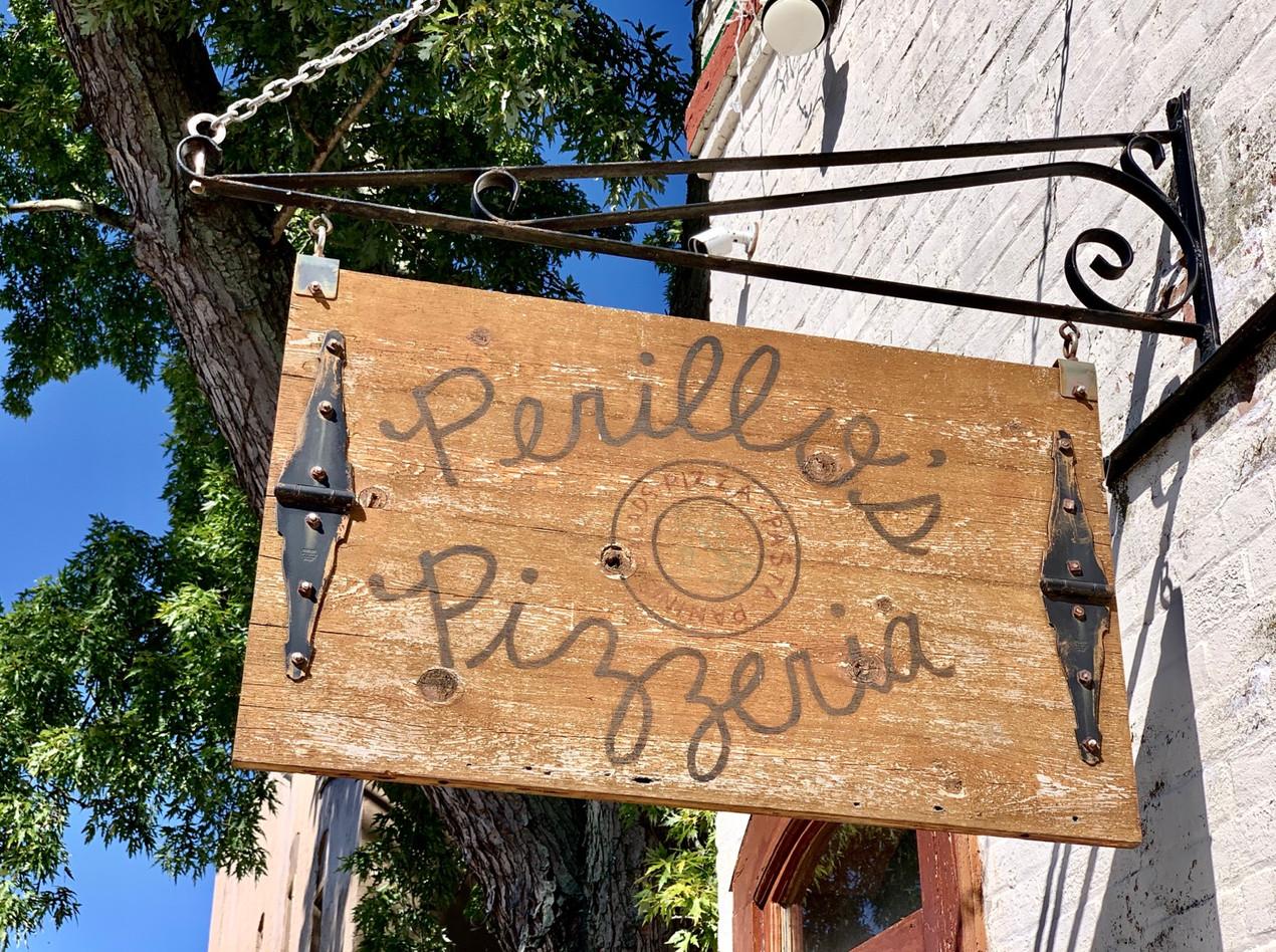 perillo's pizza sign north salem indiana
