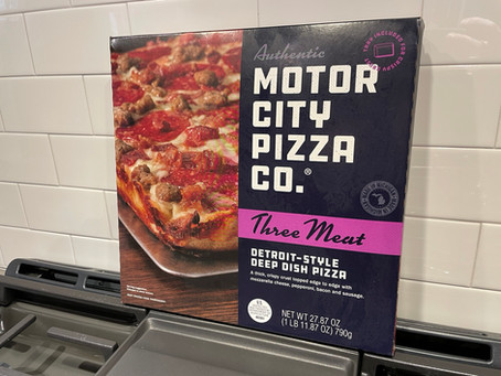 Motor City Pizza Co. Three Meat Detroit-Style Deep Dish