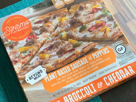 Sonoma Flatbreads Plant-Based Sausage and Peppers (Review)