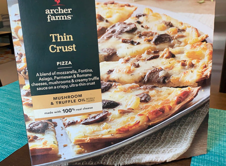 Archer Farms Mushroom and Truffle Oil Thin Crust Frozen Pizza Review