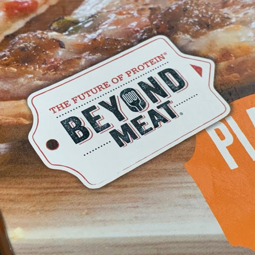 sonoma flatbreads with beyond meat review