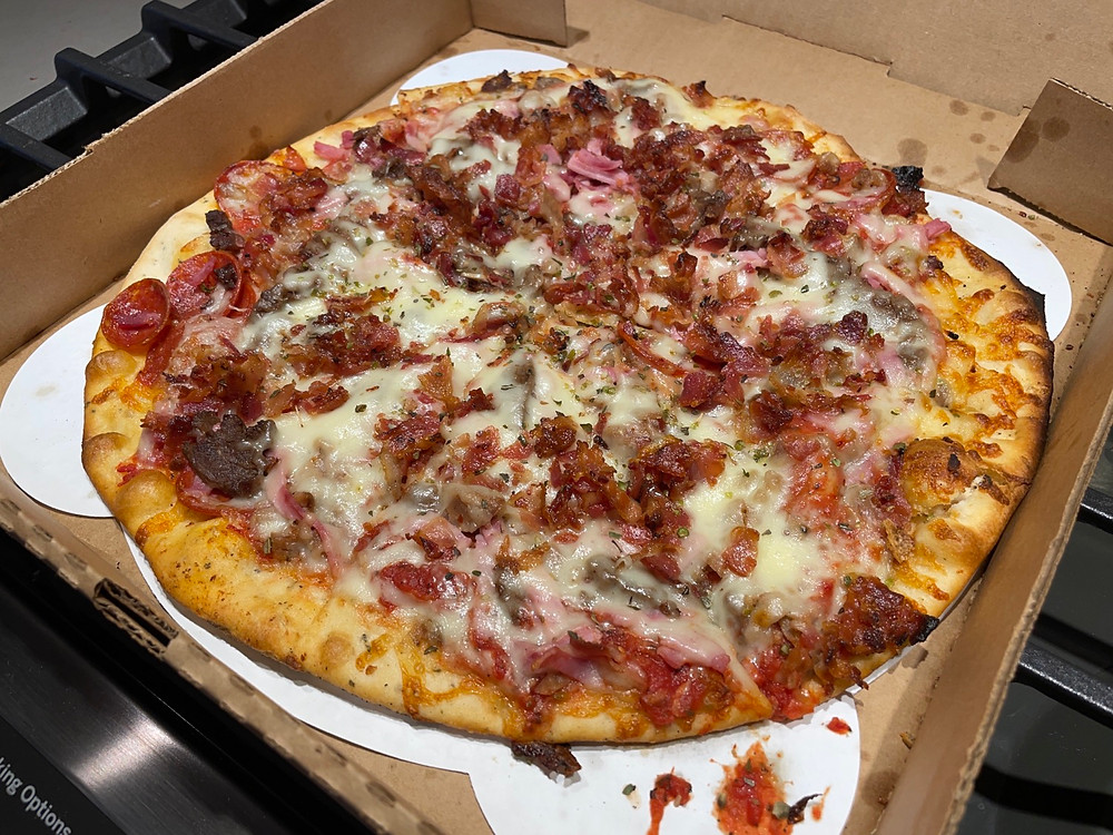Slaughterhouse Five pizza photo