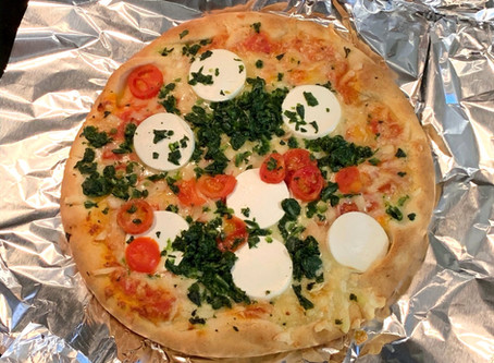 Archer Farms Goat Cheese Pizza