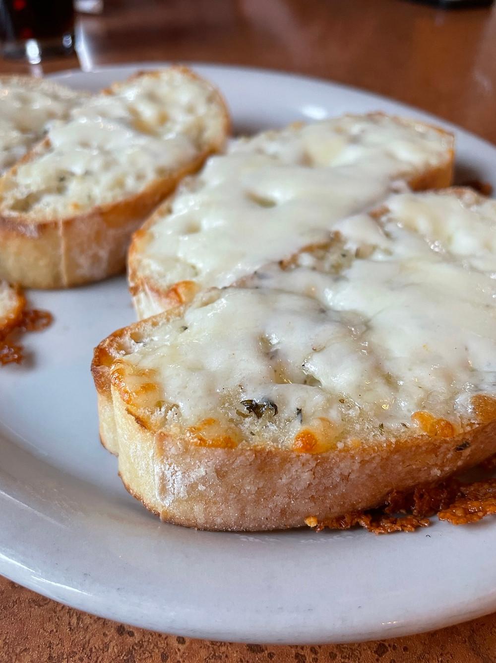 DeLullo's Trattoria mozzarella bread