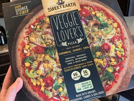 Sweet Earth Veggie Lover's Frozen Pizza Review
