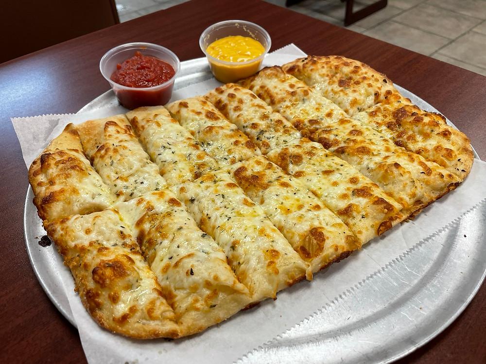 fox's pizza den cheesy bread