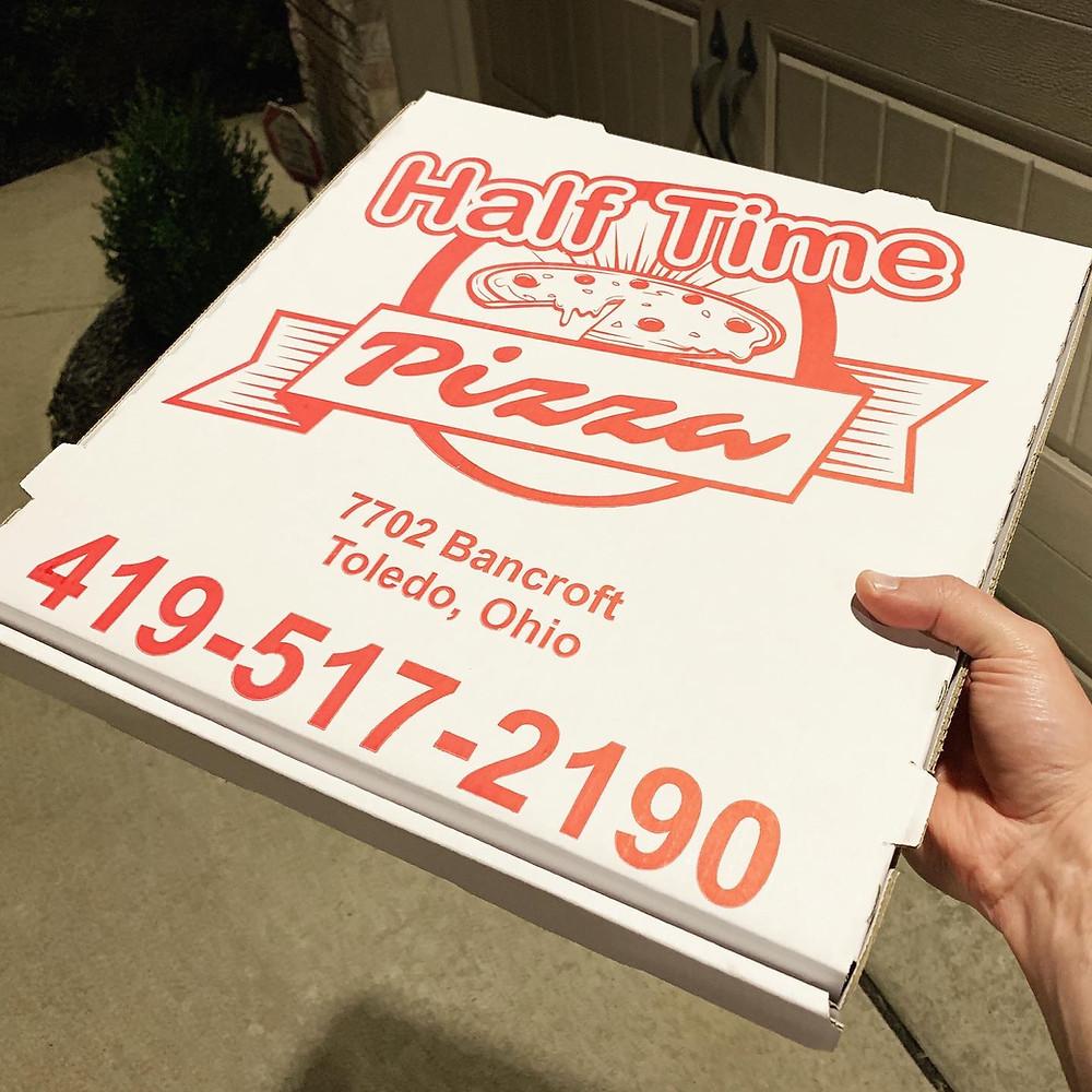 half time pizza bancroft toledo ohio