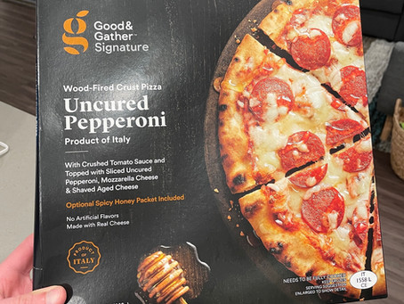Uncured Pepperoni with Spicy Honey Drizzle Frozen Pizza from Good & Gather