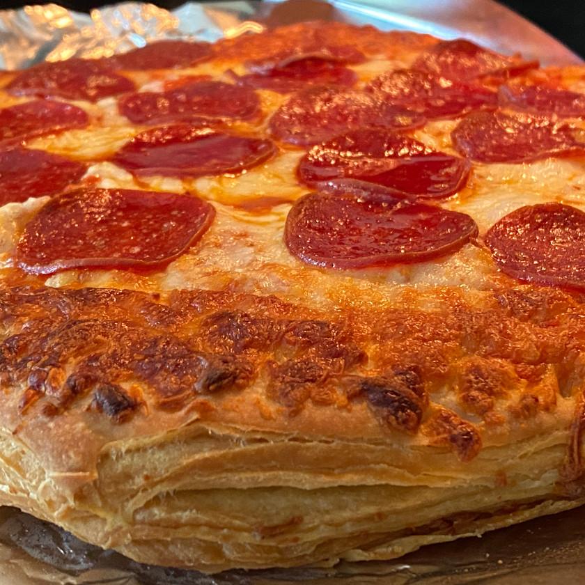 croissant flakey oven bake pizza crust