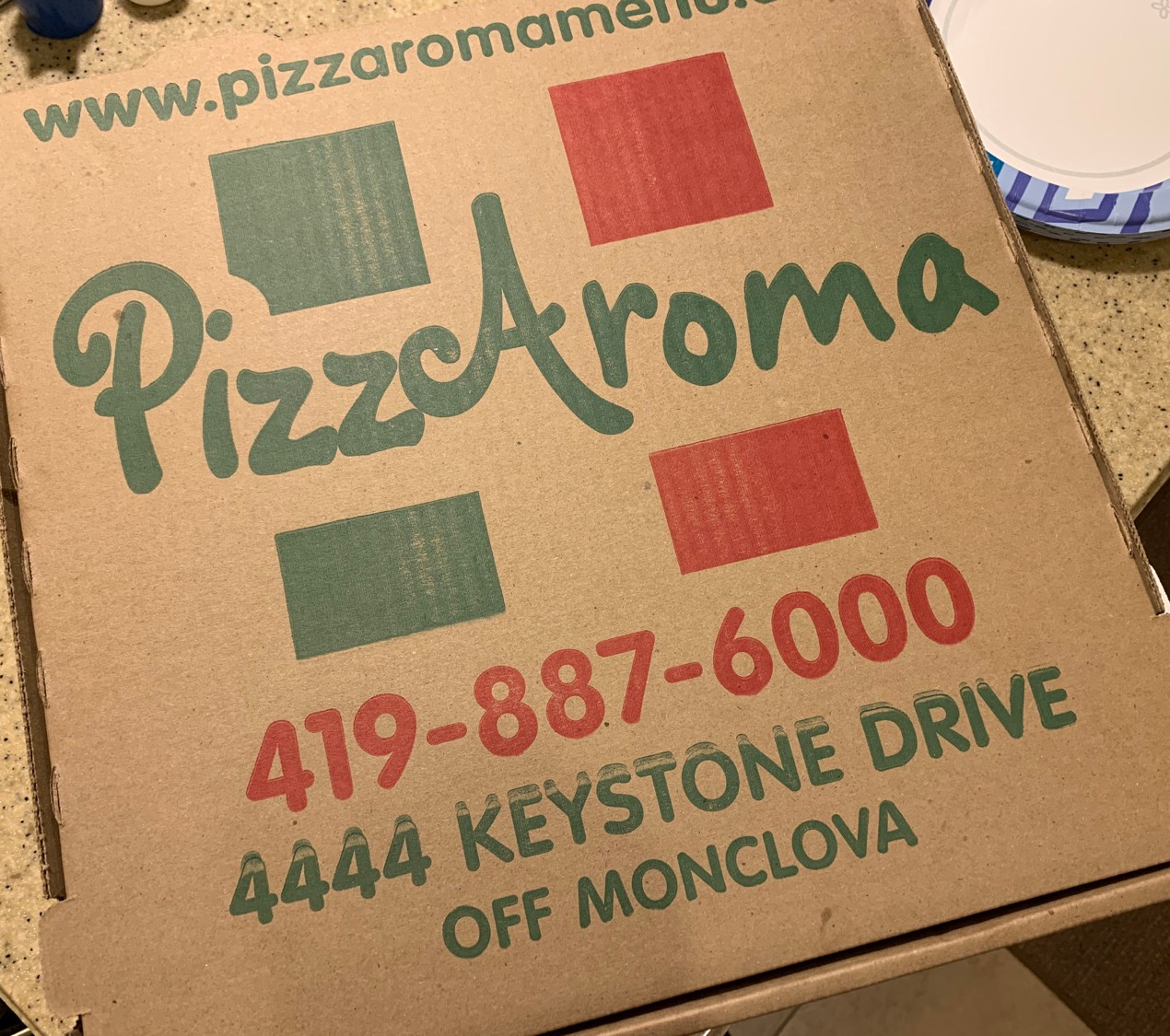 pizzaroma box