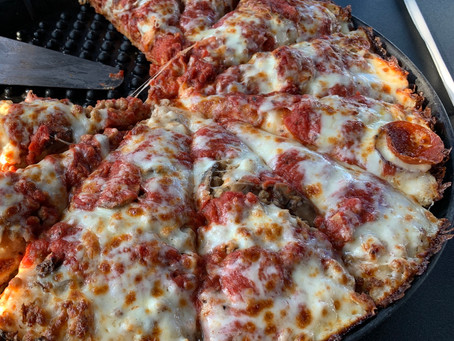 Chicago's Pizza in Fishers Again and Again