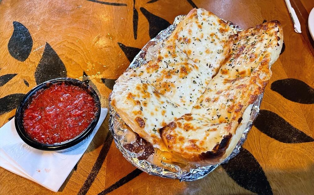bazbeaux garlic bread with cheese