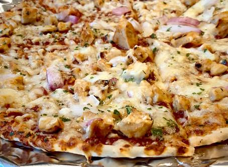 BBQ Sauce Overpowers Homogeneous Pizza