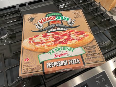 Screamin' Sicilian 'Za Brewski Pepperoni Frozen Pizza
