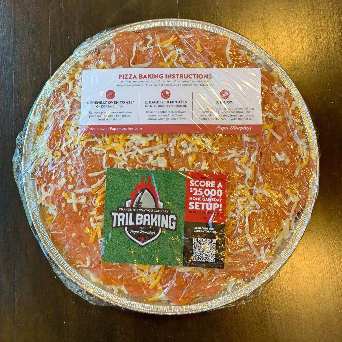 papa murphys pizza photos and review
