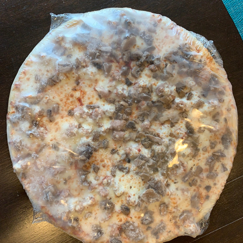 home run inn frozen pizza in wrapper