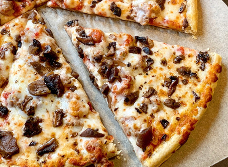 Home Run Inn Sausage and Mushroom Frozen Pizza