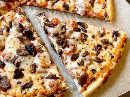 Home Run Inn Sausage and Mushroom Frozen Pizza