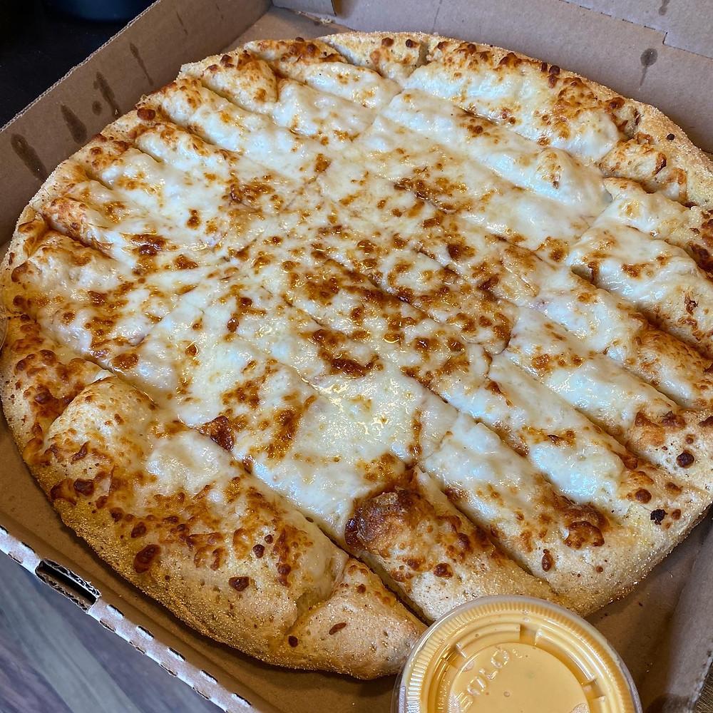 Hot Box Pizza cheese stix