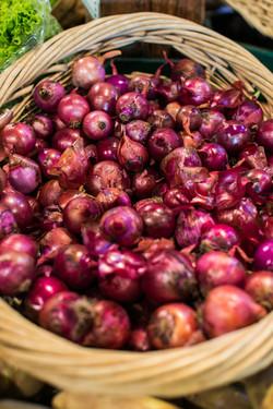 Beans & Greens Farm - Anne Skidmore - onion basket