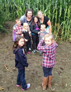Beans & Greens Farm - Cornmaze family ph