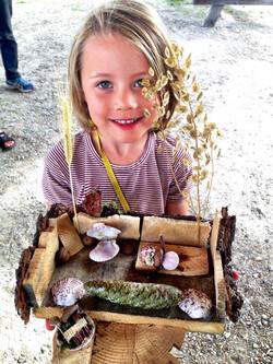 Beans & Greens Farm - fairyhouse happy kid