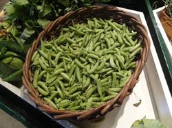 Beans & Greens Farm - farmstand peas