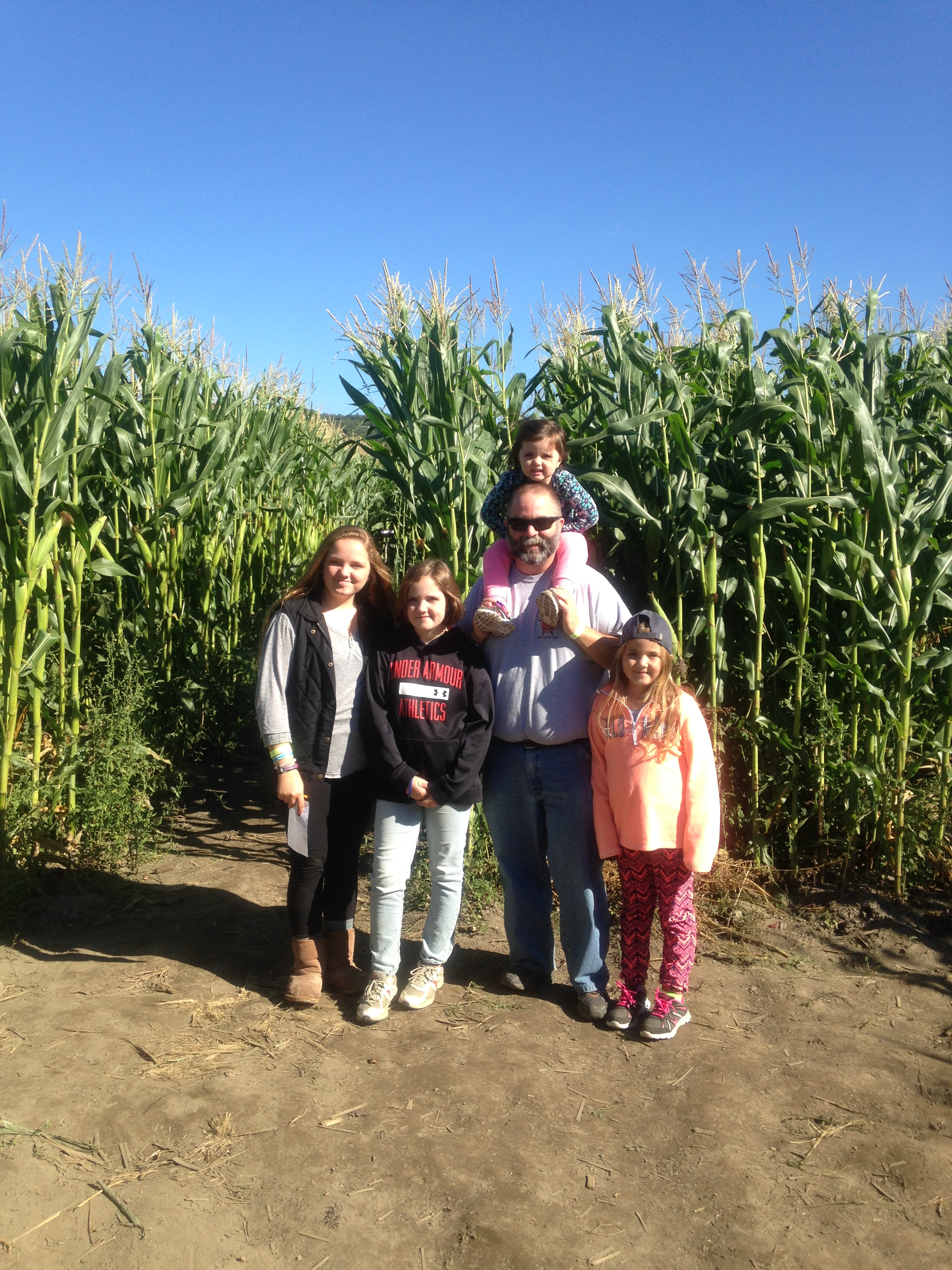 Beans & Greens Farm - cornmaze family kids