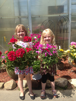Beans & Greens Farm - flowers and Happy Kids