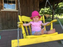 Beans & Greens Farm - Happy Girl Swing
