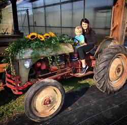 Beans & Greens Farm - Pavilion tractor m