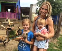 Beans & Greens Farm - farmstand happy family