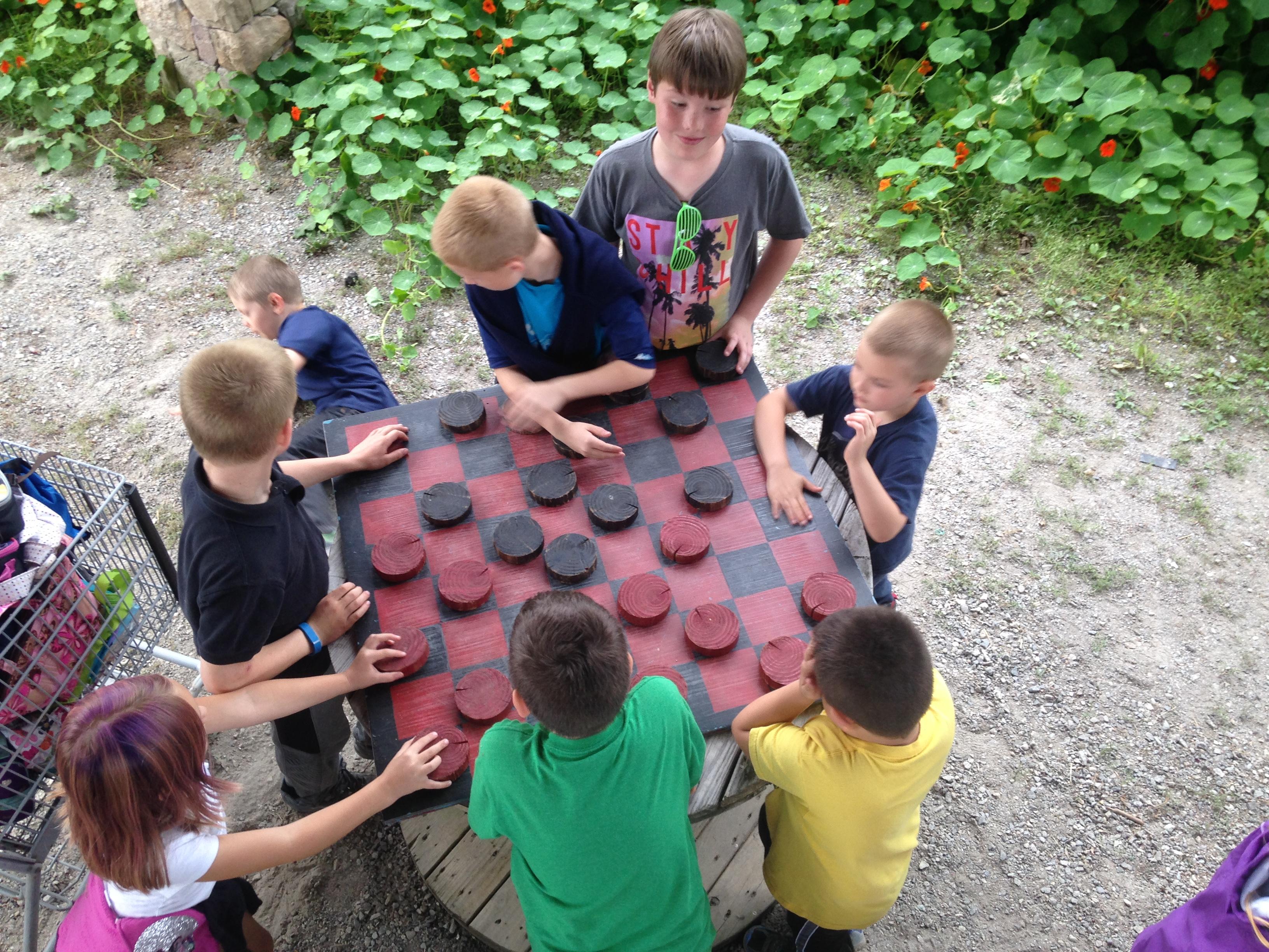 Beans & Greens Farm - farmstand kids che