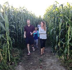 Beans & Greens Farm - cornmaze family_edited