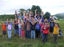 Beans & Greens Farm - happy kids