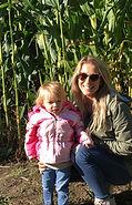 Beans & Greens Farm - cornmaze mom and d