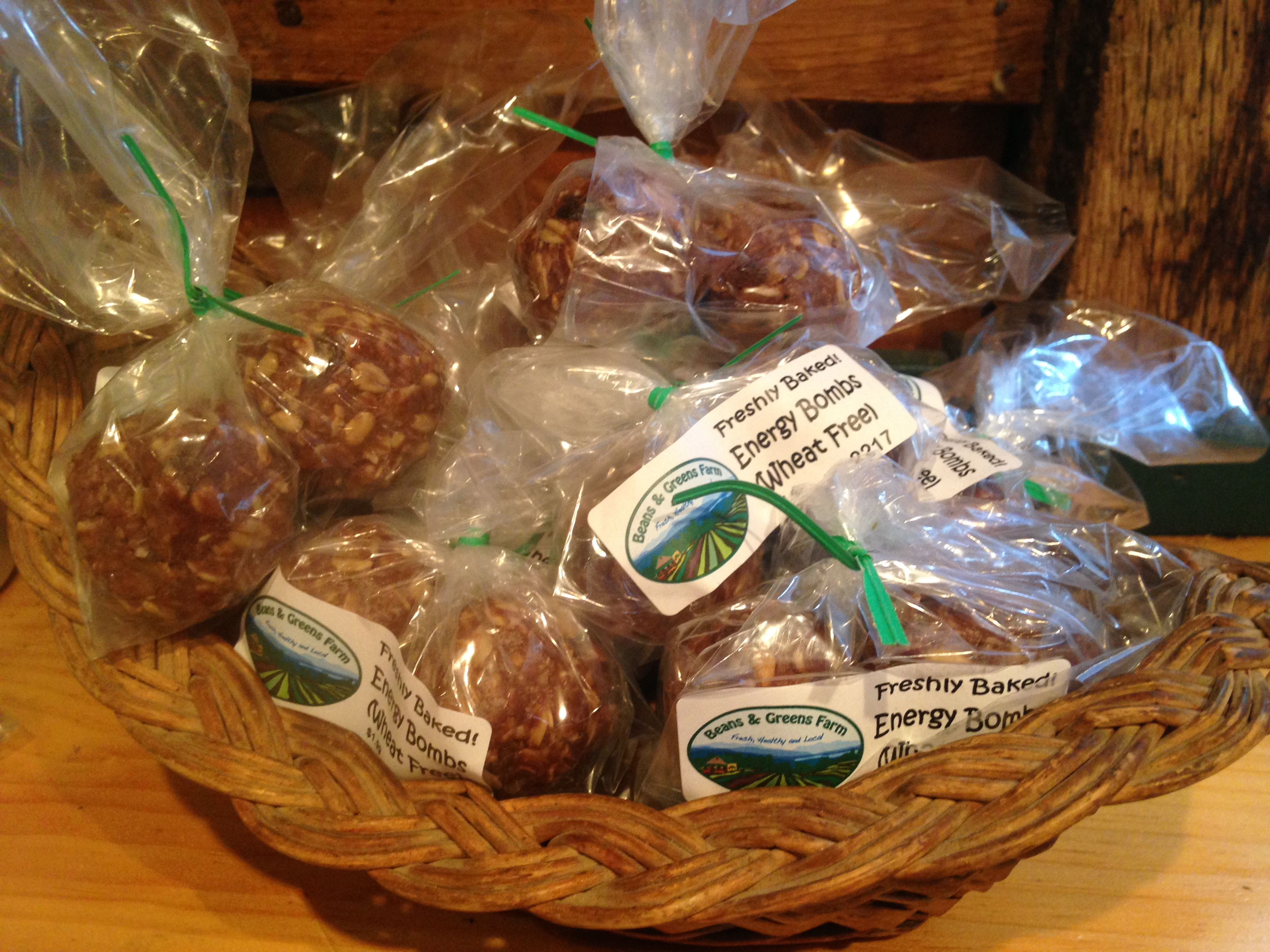 Beans & Greens Farm - Bakery Energy Bombs